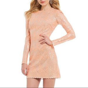 NWT Dress the Population Aubry Sequin lace dress